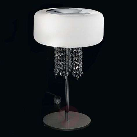 Ainutlaatuinen design-pöytävalaisin Amira, 35cm-5016284-31