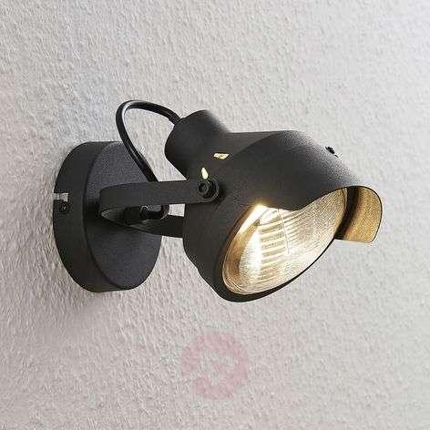 Ajovalo-spotti Henega musta, 1-lamppuinen