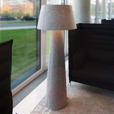 Alice XL -LED-lattiavalo, harmaata huopaa