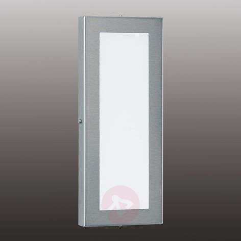Alina-LED-ulkoseinävalaisin, ruostumaton teräs