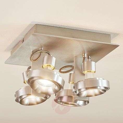 Alumiininen kattovalaisin Teska, 4LED-lamppua