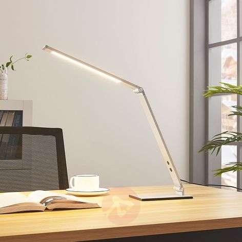 Alumiininen LED-työpöytälamppu Nicano, himmennin