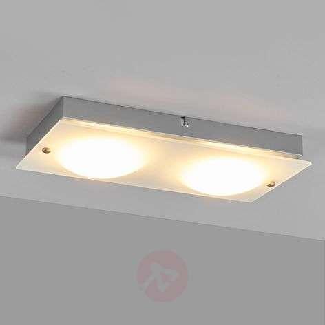 Annika - 2-lamppuinen LED-seinävalaisin lasista