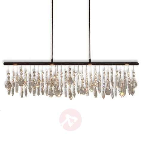 Anteo – LED-riippuvalaisin kristalliriipuksilla-6528182-31