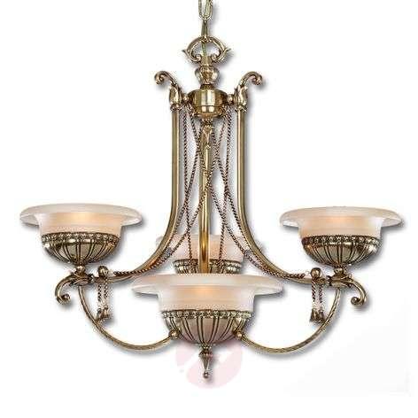 Antiikkisenkaltainen Evita-kattokruunu, 4 lamppua