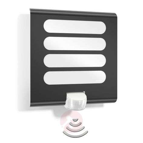 Antrasiitin värinen LED-seinävalaisin L224 tunn.