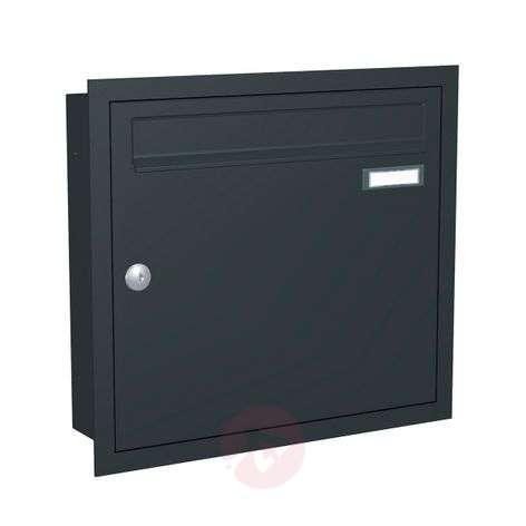 Antrasiitinharmaa postilaatikko Express Box Up 110