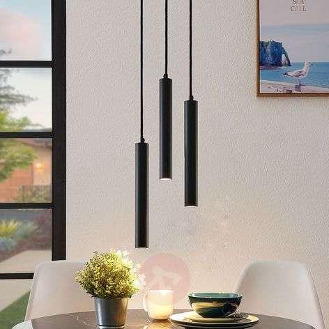 Arcchio Franka -LED-riippuvalo, 3-lamp., pyöreä