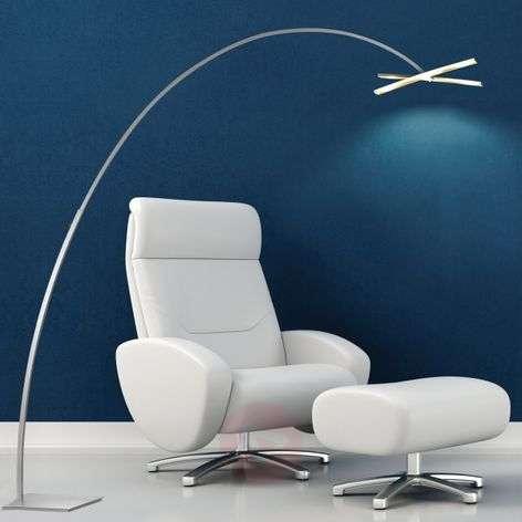Arco – LED-kaarilattiavalaisin, kosketushimmennin