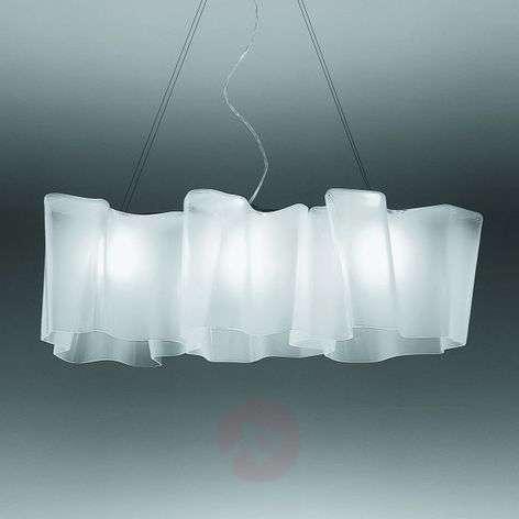 Artemide Logico -riippuvalaisin, 3-lamp., 100 cm