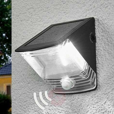 Aurinkokäyt. LED-seinävalo SOL 04 IP44-luok. musta-1540166-31
