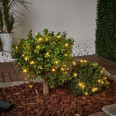 Aurinkokäyttöinen 250 cm pitkä Dew Drop-valoketju-1523064-31