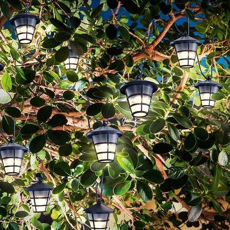 Aurinkokäyttöinen Asia Style -koristevalo LED