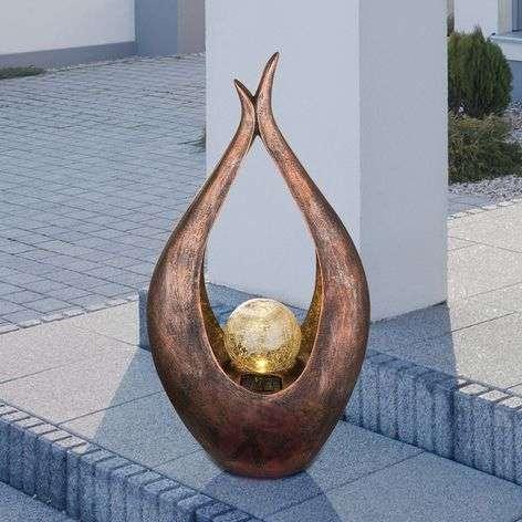 Aurinkokäyttöinen koristevalaisin Dagita