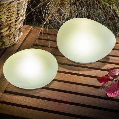 Aurinkokäyttöinen LED-koristekivi Flintstone 2 kpl-3012539-31
