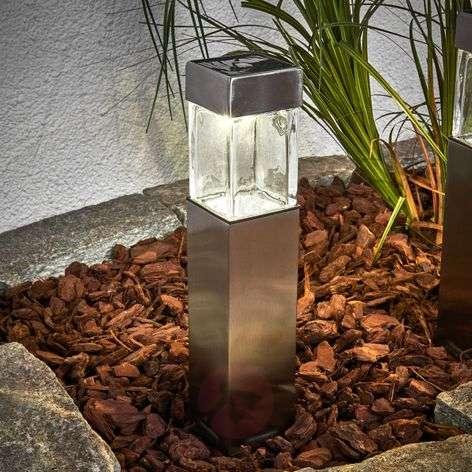 Aurinkokäyttöinen LED-lamppu Barny, 4:n setti