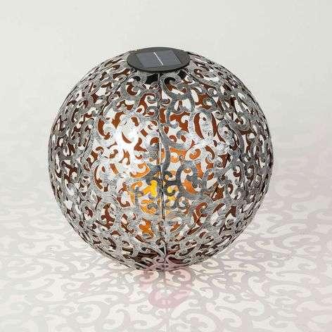 Aurinkokäyttöinen LED-lamppu Eduta hopea-kulta