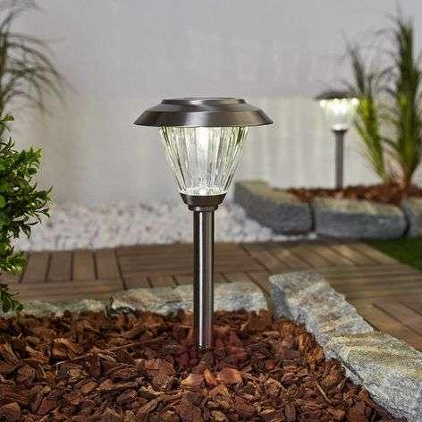 Aurinkokäyttöinen LED-lamppu Venja, 2:n setti