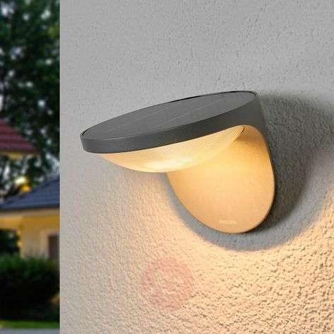 Aurinkokäyttöinen LED-ulkoseinävalaisin Dusk