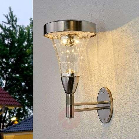 Aurinkokäyttöinen LED-ulkoseinävalaisin Najee-5527155-31