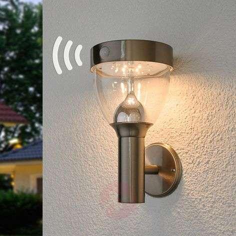 Aurinkokäyttöinen Lenjo-LED-ulkolamppu