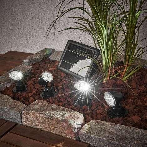 Aurinkokäyttöinen Quattro Power -spottivalosarja