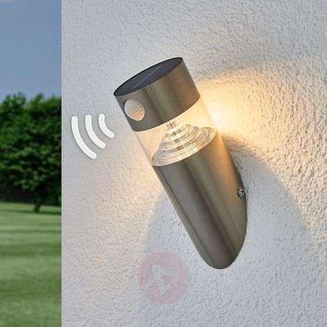 Aurinkokäyttöinen, vino Kalypso-LED-seinälamppu