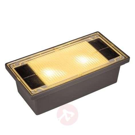 Aurinkokennollinen LED-mukulakivi, 19,4 cm