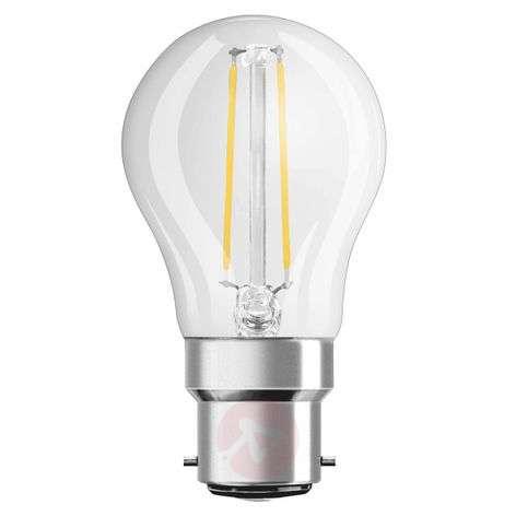 B22 2,5W 827 LED-hehkulankapisaralamppu