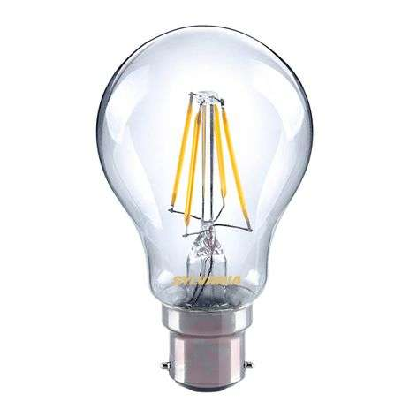B22 4W 827 LED-hehkulankalamppu, kirkas