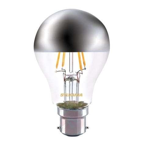 B22 4W 827 LED-pääpeililamppu