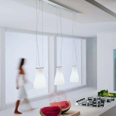 Bell-design-riippuvalaisin, 3-lamppuinen