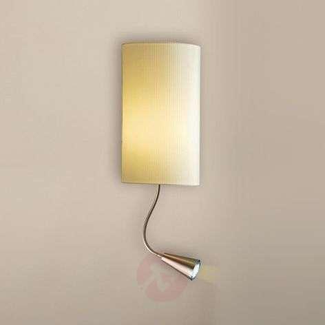 Benito-seinävalaisin LED-lukuvalolla