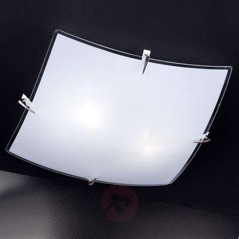 Bisa: valkoisen häikäisevä lasinen kattovalaisin
