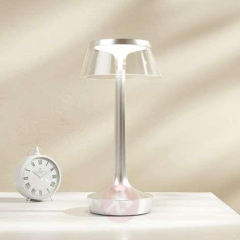 Bon Jour unplugged -LED-pöytävalaisin akulla