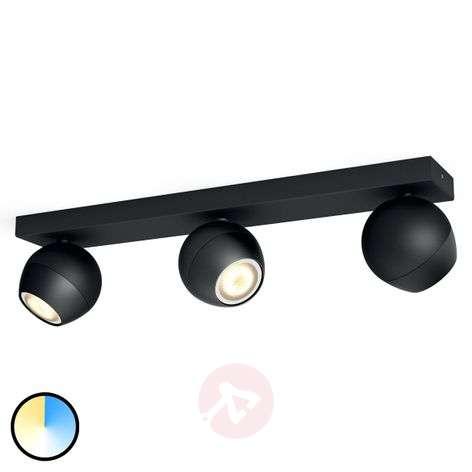 Buckram – 3-osainen Philips Hue LED-spotti musta