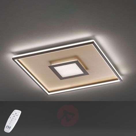 Bug-LED-kattovalo, neliönmuot., ruoste