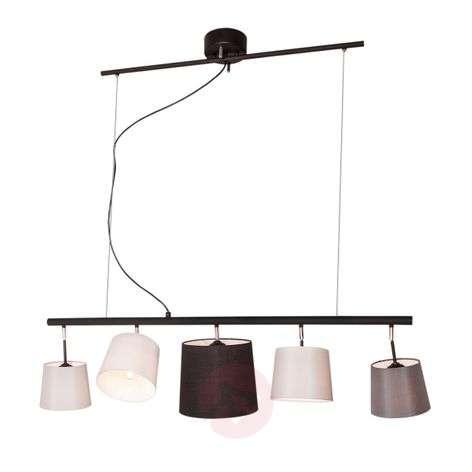 By Rydéns Foggy -tankoriippuvalaisin, 5-lamppuinen