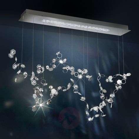Crystalon -LED-riippuvalaisin Swarovskeilla 117 cm
