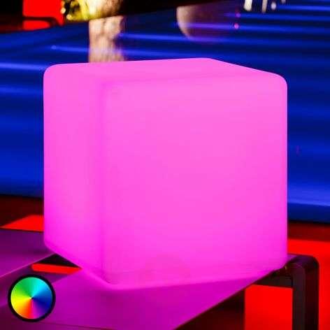 Cube – valaiseva kuutio ulkotiloihin