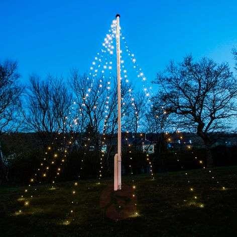 David-LED-valoketju lipputankoon 360 lamppua