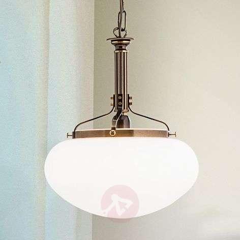 Delia riippuvalaisin antiikkimessinki 1-lamppuinen