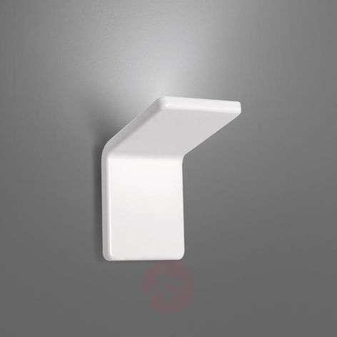 Design-LED-seinävalo Cuma 10, valkoinen