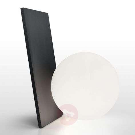 Design-pöytävalaisin Extra T LEDeillä, grafiitti