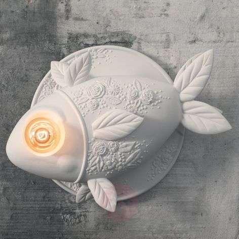 Design-seinävalaisin Aprile, kalanmuotoinen