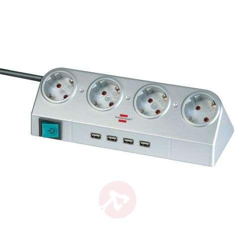 Desktop-Power-jakopistorasia kytkin USB-liitäntä