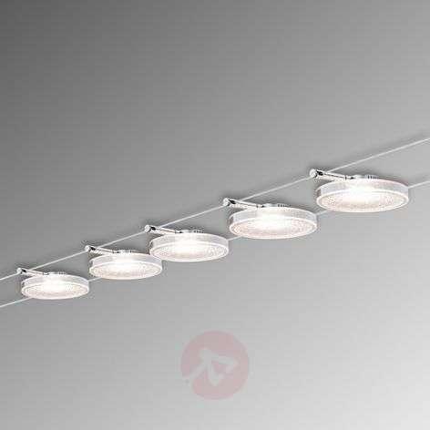 Disc LED II – viiden lampun vaijerijärjestelmä