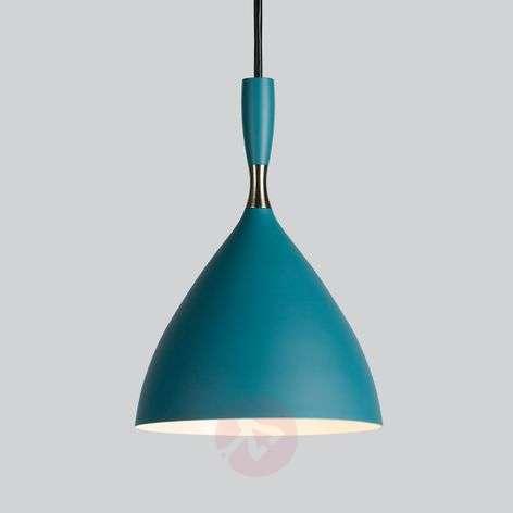Dokka – design-retrovalaisin sinivihreänä