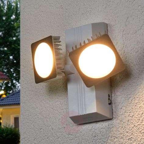 Double Spot Noxlite Smart LED-ulkoseinävalaisin