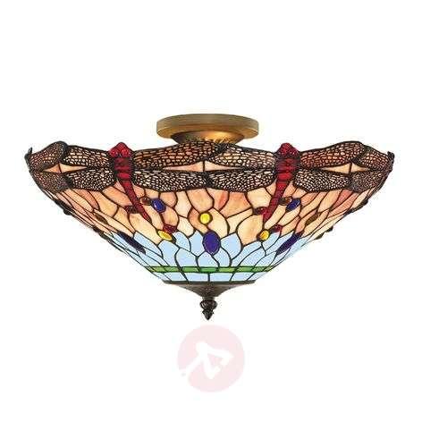 DRAGONFLY - Tiffany-tyylinen kattovalaisin